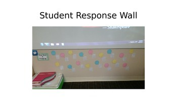 Student Response Wall