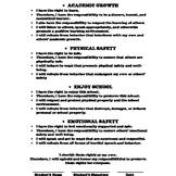 Student Responsibilities Contract