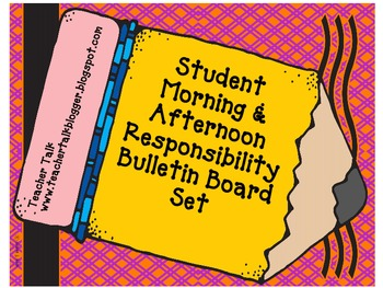 Student Responsibilty Bulletin Board Set