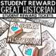 Student Reward - A Great Historian