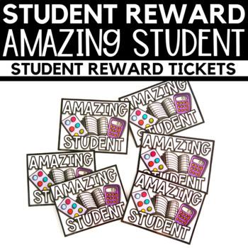 Student Reward - Amazing Student