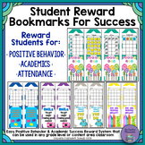 Student Reward Bookmarks for Positive Behavior and Academic Success
