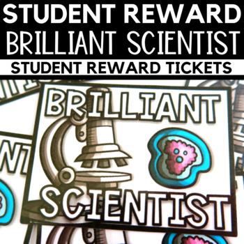 Student Reward - Brilliant Scientist