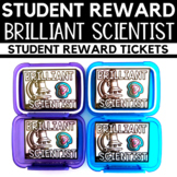 Student Reward - Brilliant Scientist