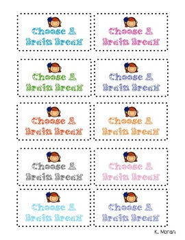 Student Reward Cards