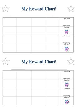 Student Reward Chart