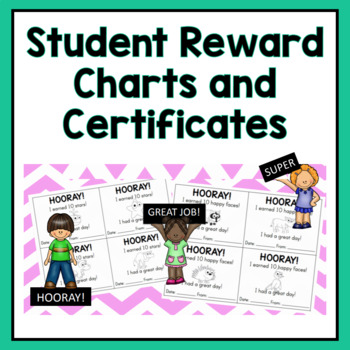Student Reward Chart and Certificates