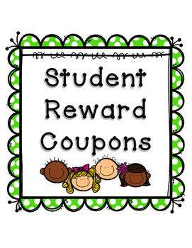 Student Reward Coupons