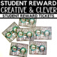 Student Reward - Creative and Clever