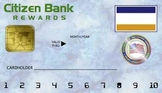 "Student Reward ""Credit Card"" Punchcard: Printable"