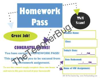 Student Reward File Bundle