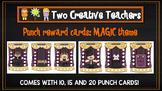 Student Reward Punch card: Magic theme
