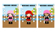 Student Reward Punch card: Pirate theme