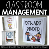 Student Rewards Binder