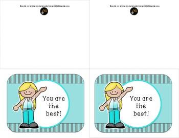 Student  Rewards Cards