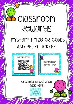 Student Rewards - QR Codes