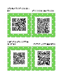 Student Rewards with QR Codes