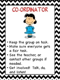 Student Roles in Group Work (Peanuts Style)