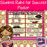 Student Rules for Success Potato Poster