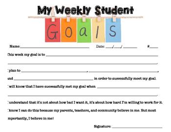 Student SMART Goals