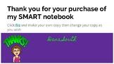 Student SMART notebook- Digital
