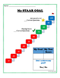 Student STAAR Goal Setting