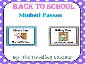 Student School Passes