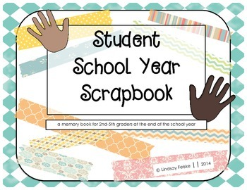 Student School Year Scrapbook