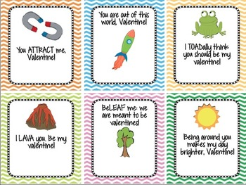 student science valentine s day cards print sign give tpt