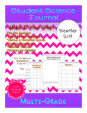 Student Science Weather Journal Template