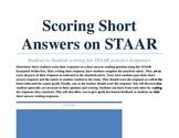 Student Scoring for Short Answer Responses