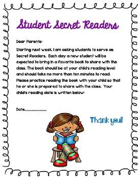 Student Secret Readers