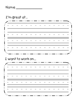 Student Self-Assess Writing Prompt