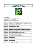 Student Self-Assessment Form for Conferences