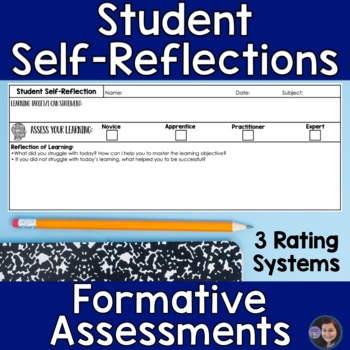 Student SelfAssessment I Can Statements By The Creative Classroom