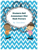 Student Self Assessment Mini Desk Posters