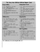 Student Self Assessment PDF Version