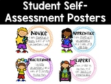 Student Self Assessment Posters - Levels of Understanding