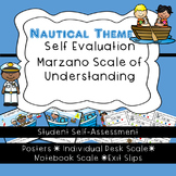 Student Self-Assessment--Posters and Exit Slips-Marzano's Scale of Understanding