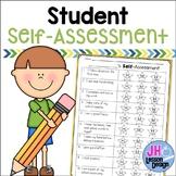 Student Self-Assessment Reflection Worksheet