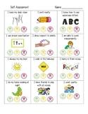 Student Self Assessment Report Card