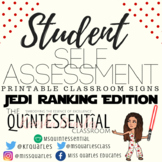 Student Self-Assessment Rubric/Classroom Signs (Star Wars