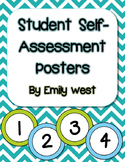 Student Self Assessment Rubric Posters