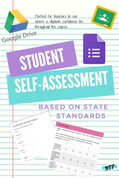 Student Self-Assessment Survey Using Google Forms & State Standards