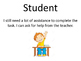 Student Self Assessment Tool