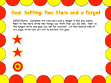 Student Self Assessment (Two Stars and a Target)