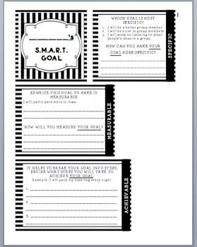 Student Self Assessment and Coordinating S.M.A.R.T. Goal