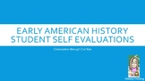 Student Self Assessment for Early American History Standards