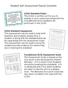 Student Self Assessment for RL.3.1