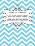Student Self Assessment for RL.3.5